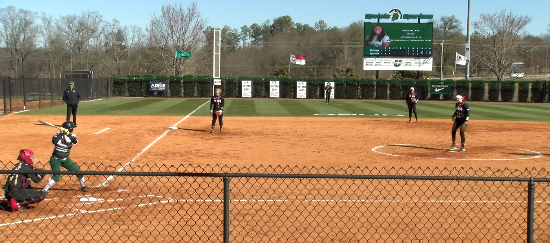 USC Upstate Softball