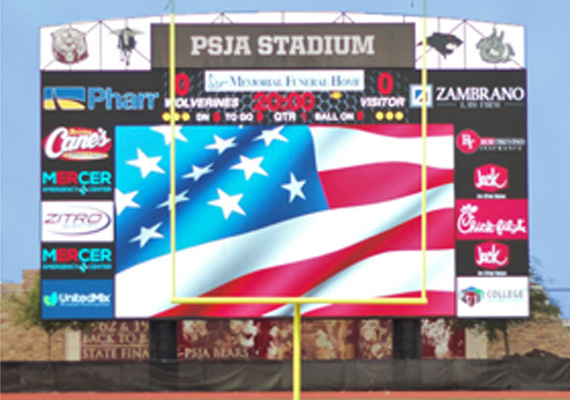 OUTDOOR SCOREBOARDS