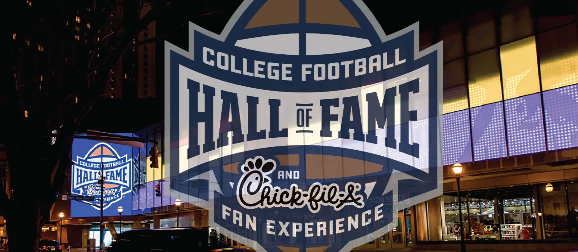 College Football Hall of Fame – Exterior