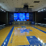 Formetco installed new LED video scoreboard at the University of Kentucky's Memorial Coliseum