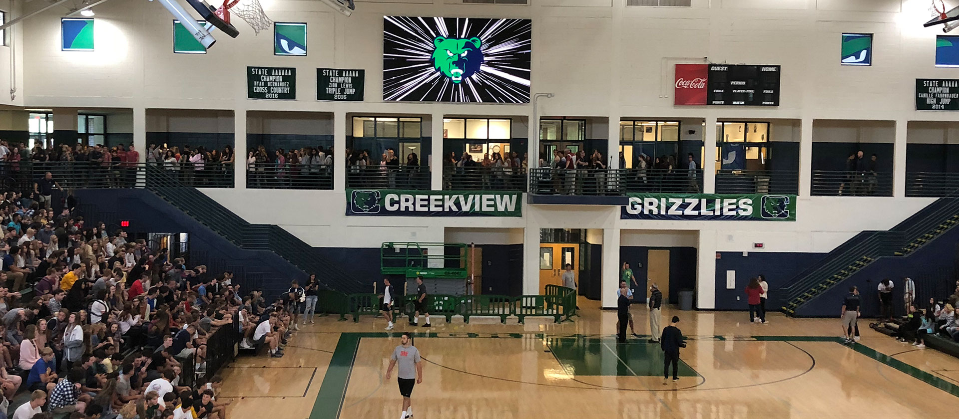 Creekview High School – Indoor